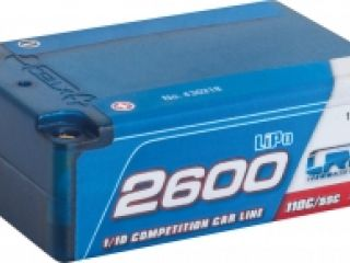LRP 2600 - Super Shorty - 110C/55C - 7.4V LiPo - 1/10 Competition Car Line Hardcase
