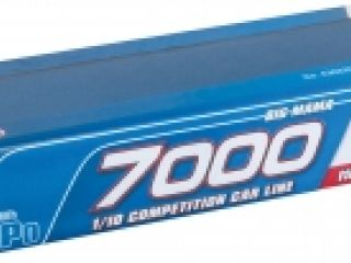 LRP 7000 - Big Mama - 110C/55C - 7.4V LiPo - 1/10 Competition Car Line Hardcase