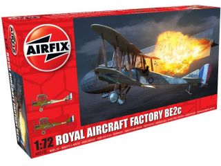 Classic Kit letadlo Royal Aircraft Facility BE2C (1:72)