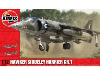 Classic Kit letadlo Hawker Siddeley Harrier GR1 1:72