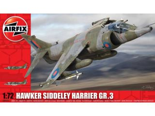 Classic Kit letadlo Hawker Siddeley Harrier GR3 1:72