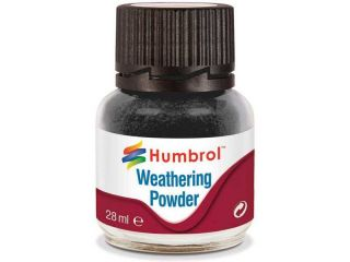 Humbrol Weathering Powder černý pigment 28ml