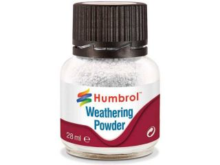 Humbrol Weathering Powder bílý pigment 28ml