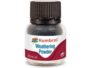 Humbrol Weathering Powder kouřový pigment 28ml