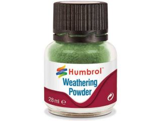 Humbrol Weathering Powder chromově zelený pigment 28ml