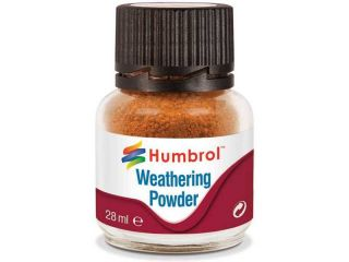 Humbrol Weathering Powder rezavý pigment 28ml