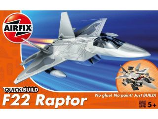 Quick Build letadlo Lockheed Martin Raptor