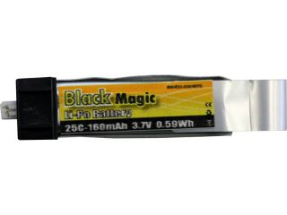 LiPol Black Magic 3.7V 160mAh 25C EFL