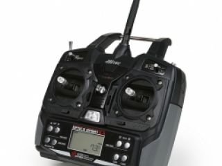 OPTIC 6 SPORT 2,4 GHz (mode 1), přijímač OPTIMA 6