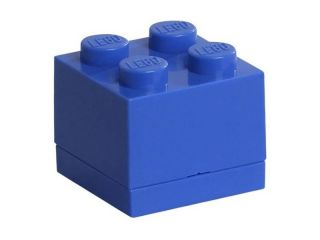 LEGO Mini Box 46x46x43mm - modrý
