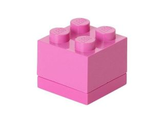 LEGO Mini Box 46x46x43mm - růžový