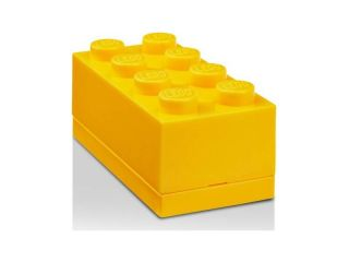 LEGO Mini Box 46x92x43mm - žlutý