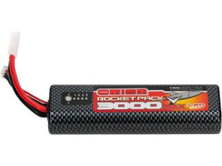 Team Orion LiPol V-Max 3000mAh 7.6V 55C LED Tamiya