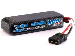 Team Orion LiPol Carbon Sport 11.1V 1200mAh 45C TRX