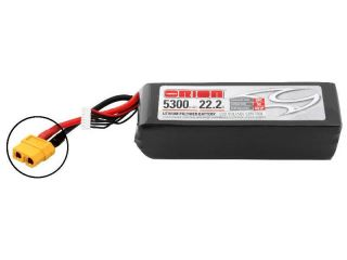 Team Orion LiPol 5300mAh 6S 22.2V 50C XT60 LED