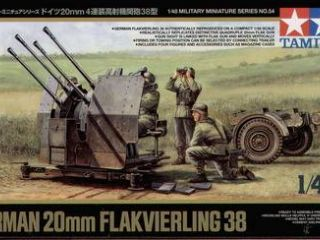 German 20mm Flak 38 1/48