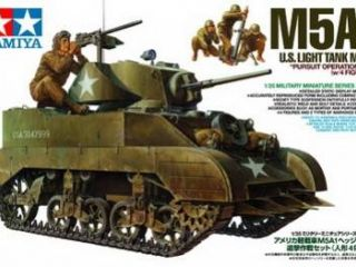 M5 A1 w/4 Figures