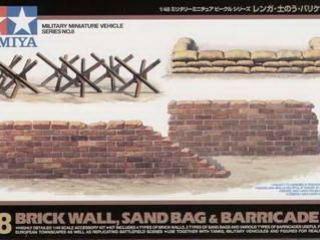 Brick/Sandbag/Barricade Set 1/48