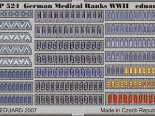 German Medical Ranks WWII