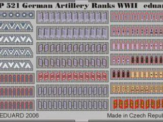 German Artilery Ranks WWII