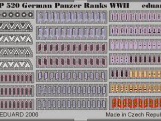German Panzer Ranks WWII