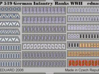 German Infantry Ranks WWII