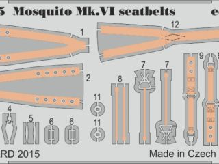 Mosquito FB Mk.VI seatbelts (Tam)