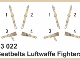 Seatbelts Luftwaffe fighters S.FABRIC