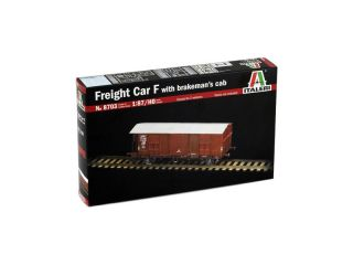 Italeri FREIGHT CAR F with BRAKEMANS CAB (1:87 / HO)