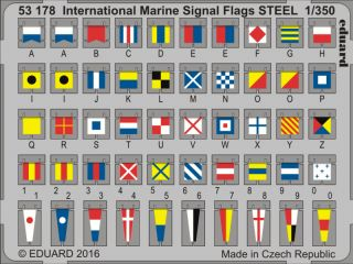 Int.Marine Signal Flags STEEL 1/350