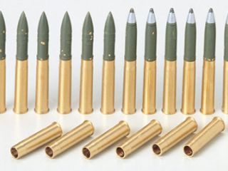 M4 Sherman Brass 75mm Projectiles
