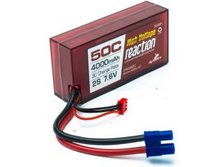 LiPol Reaction Car 7.6V HV 4000mAh 50C 96mm