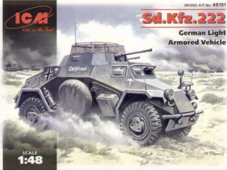 Sd.Kfz.222 German armored car WWII