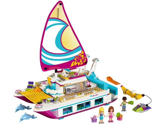 LEGO Friends - Katamarán Sunshine