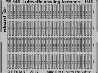 Luftwaffe cowling fasteners 1/48