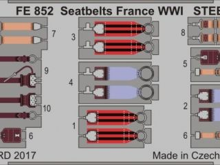 Seatbelts France WWI 1/48