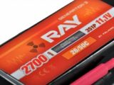 G3 - LC RAY Li-Pol 2700mAh/11,1 30/60C Air pack 30,0Wh
