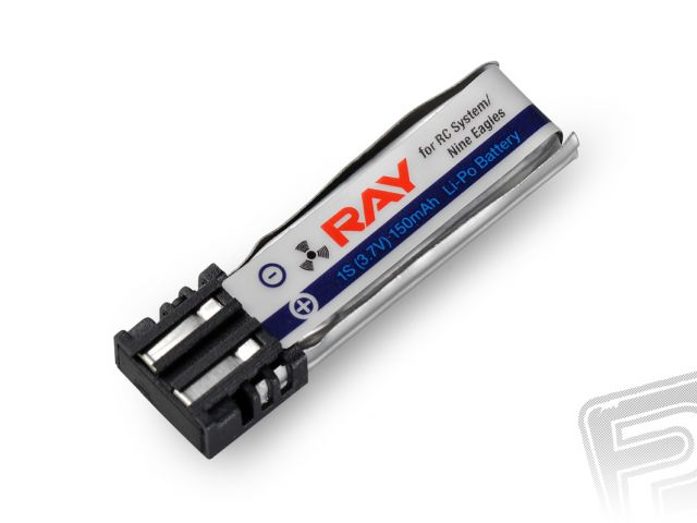 G3 RAY Li-Pol 150mAh/3,7V (RC system, Nine Eagles) 0,6Wh